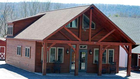 Amish Barn by Amish Cabin Homes Housing Shells In Oneonta Ny Amish