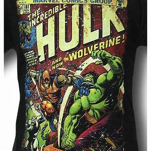 Marvel Import Classics Hulk 181 Vs Wolverine T Shirt