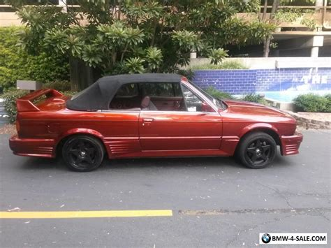 1987 Bmw 3-series 325i For Sale In United States
