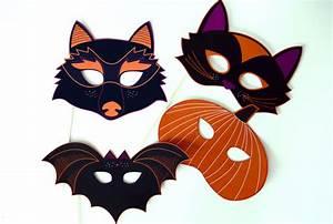 Masque Halloween A Fabriquer : masques pour halloween plan te tutos ~ Melissatoandfro.com Idées de Décoration