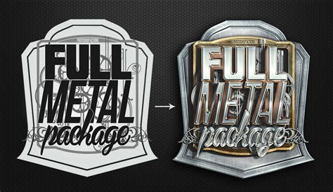 full metal package  photoshop actions  blacknull