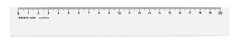 20 cm langes, stabiles lineal aus kunststoff inkl. Lineal 20 cm, glasklares Plexiglas - Geosaver Schulbedarf ...