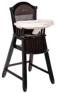 Solid Wood Eddie Bauer High Chair by Antique Solid Wood Baby High Chair Roller Rolling Play
