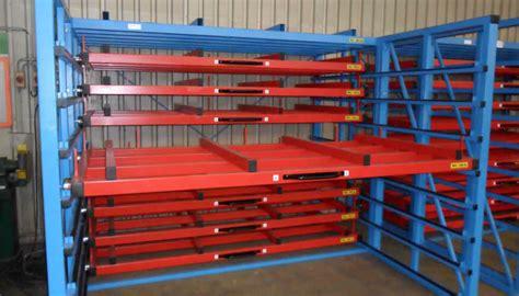 metal sheet rack horizontal eurostorage