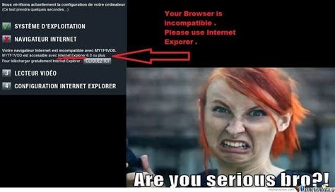 Internet Explorer , Seriously ? By Tyyb