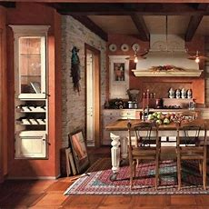 Rustic, Warm Kitchen  Home Decorating  Pinterest