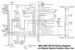 1966 Datsun 1600 Wiring Diagram