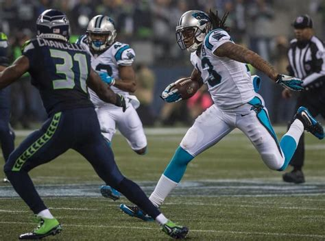 panthers  seahawks cats panthers football