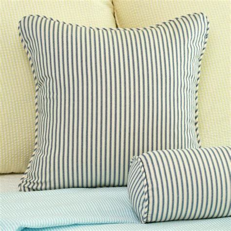 18x18 pillow covers ticking stripe throw pillow cover 18x18 southern ticking co