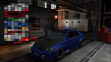 GTAIV PS3 Garage Mod Shop BETA Gameplay - YouTube