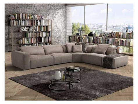 Divano Angolare Con Relax Beverly Cm 346x282