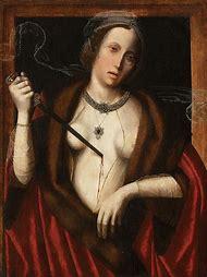 Death of Lucretia Painting