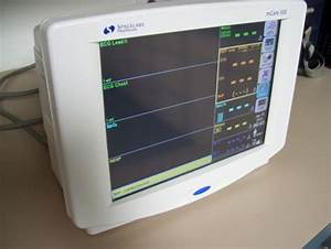 Used SPACELABS MEDICAL Mcare 300 - 91220 Monitor For Sale ...