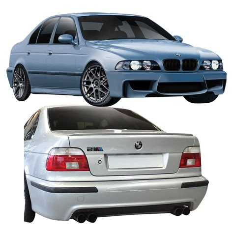 Duraflex M5 E39 4dr 1m Look Body Kit 4 Pc For 5series Bmw