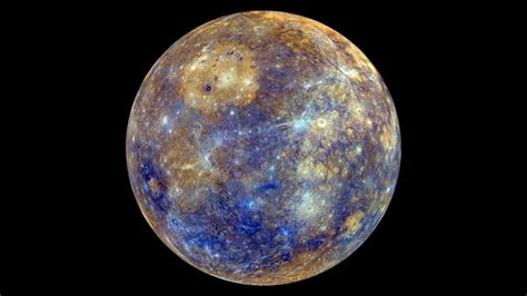 Space, Planet, Mercury, Black Background Wallpapers Hd