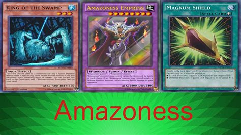 Amazoness Deck April 2017 by Ygopro Amazoness May 2017 Ita
