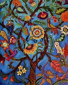 Tree Of Life II Fine Art Print by CatherineNolinArt on Etsy