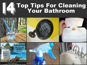 14 top tips for cleaning your bathroom With best cleaning tips for bathrooms
