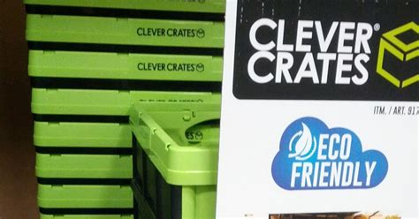 clever crates collapsible utility box costco weekender