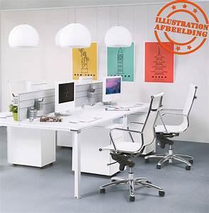 Bureau Moderne Design : fauteuil de bureau moderne air blanc fauteuil design ~ Teatrodelosmanantiales.com Idées de Décoration