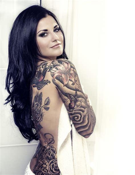 arm tattoo designs  girls