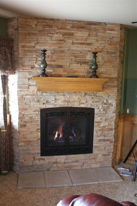 Awesome Refacing A Fireplace 12 Reface Brick Fireplace
