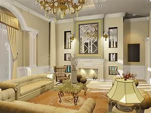 Amazing of perfect luxurious classic living room decor co for Interior design home decor tips 101