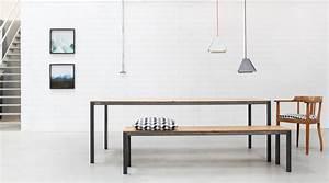 Esstisch Industrial Design : design esstisch carl nach ma goldau noelle manufaktur ~ Orissabook.com Haus und Dekorationen
