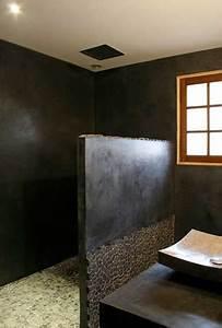 Beton Ciré Sol Salle De Bain : b ton cir sur carrelage conseils pour faire en mural et sol ~ Preciouscoupons.com Idées de Décoration