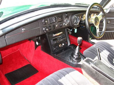 Featured Cars - MG - MGB - 1972 MG B GT Coupe British ...