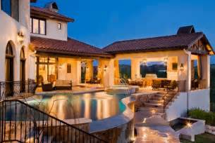 Stunning Mediterranean House Plans With Pools by 20 Backyard Pool Design Ideas For A Summer