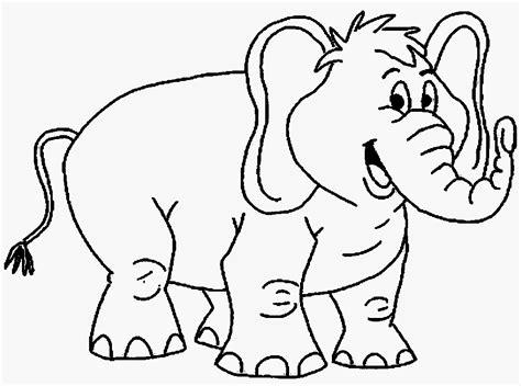 Coloring Gajah by Mewarnai Gambar Gajah Alamendah S