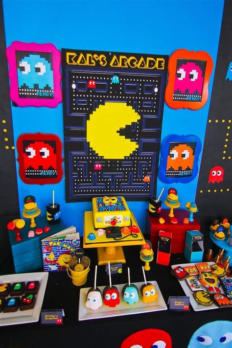 karas party ideas pac man themed birthday party karas