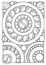 Coloring Pages Mandala Edupics Sheets Mandalas Printable Simple sketch template