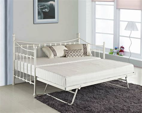glossy vanilla day bed versailles cream