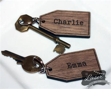 14 Best Laser Engraved Personalised Key Rings Images On
