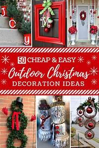 50, Cheap, U0026, Easy, Diy, Outdoor, Christmas, Decorations