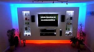Wand Mit Indirekter Beleuchtung : tv wand youtube ~ Sanjose-hotels-ca.com Haus und Dekorationen
