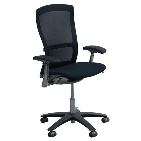 Office Chairs Knoll by Knoll Used Mesh Back Task Chair Black National
