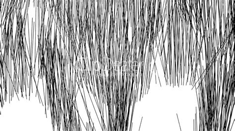 Simple Abstract Background With Grass In Black And White