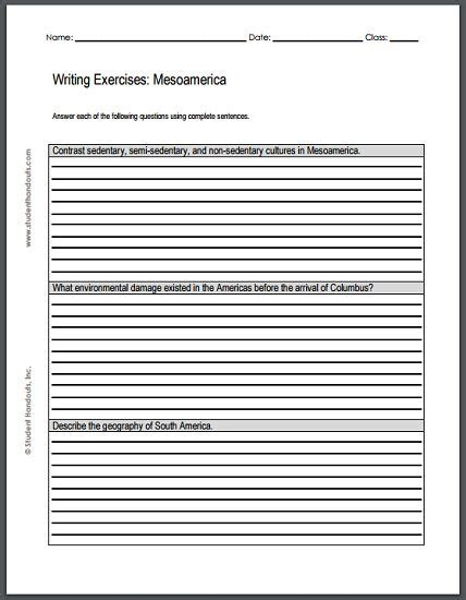 Kitchen Debate Essay by Mesoamerican Civilizations Writing Exercises Free