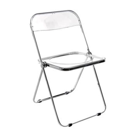 chaise pliante plexiglas design plia folding chair castelli ambientedirect com