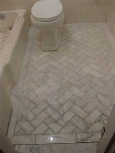 floorbathroomtilewhite white marble and diagonal With bathroom floor tile design patterns
