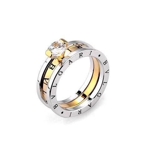 bvlgari platinum plated engagement ring jewellery