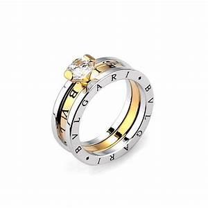 Bvlgari platinum plated engagement ring jewellery for Bulgari wedding ring