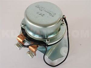 24v Solenoid Relay Battery Switch