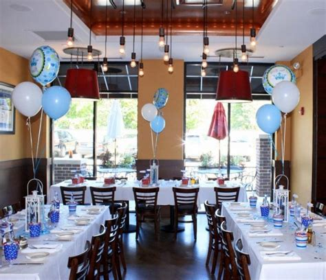 inexpensive baby shower venues san antonio wooden floor curved back chairs rectangular white