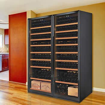 wine cellars coolers costco