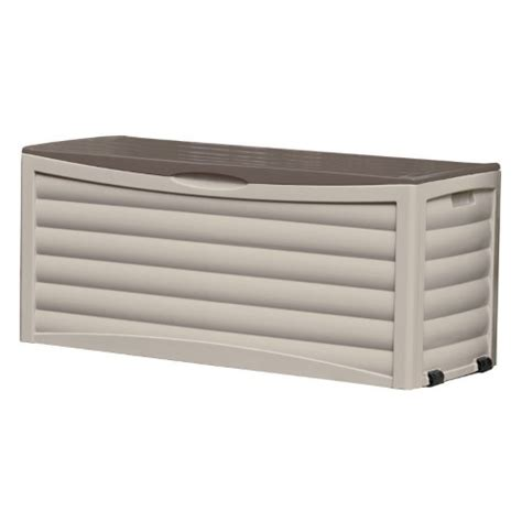suncast large 103 gallon patio deck box db10300