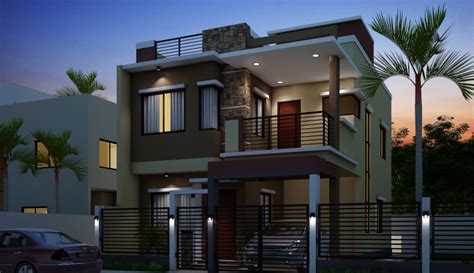 Minecraft Living Room Designs by Breathtaking Double Storey Residential House Home Design